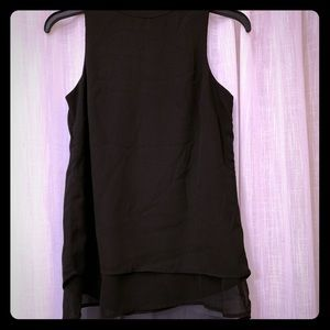 Sheer layered sleeveless dress shirt 😍